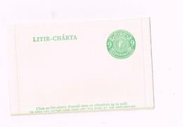 Carte-lettre à 9 - Entiers Postaux