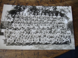 Carte Photo Groupe Militaire - Andere
