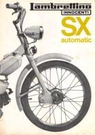 """08621 """"LAMBRETTINO SX AUTOMATIC - INNOCENTI"""" VOLANTINO ILLUSTRATO ORIGINALE - Moto"""