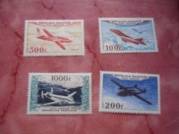 Yt Pa  30 A 33  4 Timbre Poste Aerienne Breguet Provence Magister Nordatlas Mystere 4 Neuf Sans Charniere - Neufs