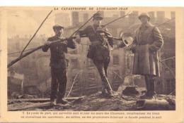 CP - La Catastrophe De Lyon Saint Jean - Catastrophes