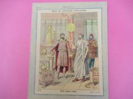 Couverture De Cahier D'écolier/Mots Et Locutions Populaires/Riche Comme Crésus/Gedalge Et Cie/Charaire/Vers 1900  CAH248 - Autres