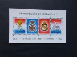 LUXEMBOURG - Blocs Feuillets N° 14    Année 1985  Neuf XX ( Voir Photo ) - Blokken & Velletjes