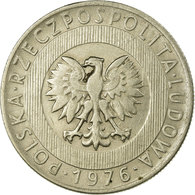 Monnaie, Pologne, 20 Zlotych, 1976, Kremnica, TTB, Copper-nickel, KM:67 - Pologne