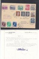Estonie - Lettre Recom De 1941- Oblit Narva Joesuu - Exp Vers Narwa - Avec Certificat - Rare - Estonia