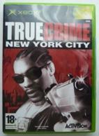 JEU XBOX TRUE CRIME NEW YORK CITY AVEC BOITIER ET LIVRET - X-Box