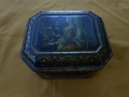 Boîte Ancienne - Métal Peint- J. Bekkers Zoon Dordreght Hollande - - Boîtes/Coffrets