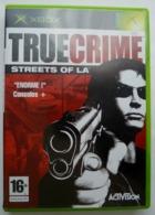 JEU XBOX TRUE CRIME STREETS OF LA  AVEC BOITIER ET LIVRET - X-Box