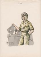 SORTIE DE LA TOURELLE DU CHAR - Militaria