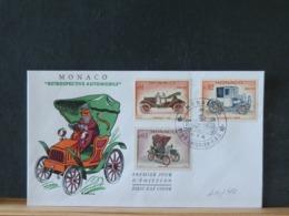 A10/314 FDC  MONACO - Autos