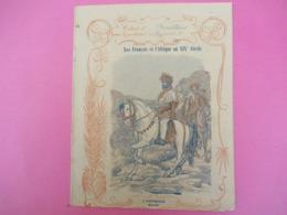 Couverture De Cahier écolier/Les Français Et L'Afrique Au XIXé Siécle/L'Abyssinie/Ménélik/Martin-Paris/Vers 1900  CAH251 - Autres