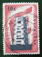 Europa Zegels NVPH 681 (Mi 683) 1956 LEIDEN Gestempeld / Used NEDERLAND / NIEDERLANDE - Used Stamps