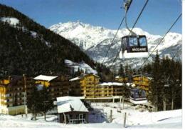 73 Val Fréjus En Maurienne Vers Modane La Station Et Le Télécabine De Punta Bagna Cabines Bardonecchia Et Modane En 1987 - Modane