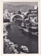 Mostar - Die Alte Brücke In Mostar, Jugoslawien - (Bildkalender 'Sonnige Welt') - (YU - Bosnia And Herzegovina) - Joegoslavië
