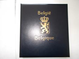 BELGIQUE   - ALBUM + BOITIER  DAVO LUXE + Les Feuilles De L'année 1985 A 2002  - Voir Photo - - Albums & Reliures