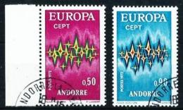 Andorra Francesa Nº 217/8 Usado Cat.12,25€ - Andorra Francesa