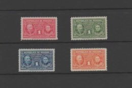 Panama 1943 Cancer Research Stamp Set. Unmounted Mint. - Panama