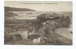 Monaco Postcard 119 Principaute  General View Rm.rostan Et Munser Unused - Monaco