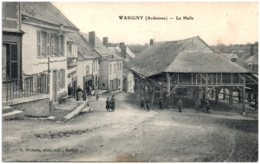 08 WASIGNY - La Halle - France