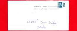 FRANCIA - Storia Postale – Busta Del 2019 ~ { 2018 - Marianne L'Engagée - (YZ Digan) } - Storia Postale