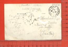 CARTE NOMINATIVE : BLANCHARD à 72110 Prevelles Par Tuffé - Postcards
