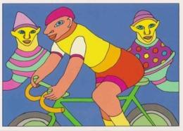 Cpm 1741/407 ERGON - Homme à Bicyclette  - Vélo - Cyclisme - Bicycle - Cycle - Illustrateurs - Illustrateur - Ergon