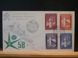 A10/324  FDC  VAT. 1958 - 1958 – Brussels (Belgium)