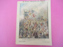 Couverture De Cahier écolier/La France Libératrice Des Peuples/La Révolution/Collection Charier Saumur/Vers 1900  CAH258 - Löschblätter, Heftumschläge