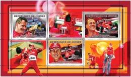 Guinea 2006  Formula 1, Racing Car ,Michael Schumacher - Guinée (1958-...)