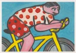Cpm 1741/402 ERGON - Homme à Bicyclette  - Vélo - Cyclisme - Bicycle - Cycle - Illustrateurs - Illustrateur - Ergon