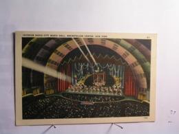 New York - Rockefeller Canter - Intérior Radio City Music Hall - New York City