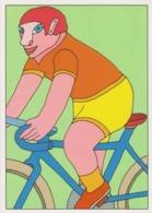 Cpm 1741/405 ERGON - Homme à Bicyclette  - Vélo - Cyclisme - Bicycle - Cycle - Illustrateurs - Illustrateur - Ergon