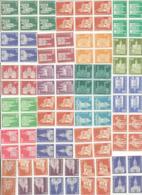 SUISSE Discount 50% OFF Under FV CHF 123.00 UNGUMMED Stamps X Postage HVs Lot Up To CHF.3.50 In Blocks Of 2/4/6 Pcs !!! - Suisse
