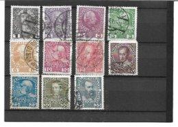 1570x: ANK 139- 149, Jubiläumsausgabe Kreidepapier O - 1850-1918 Imperium