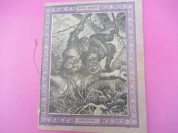 Couverture De Cahier écolier/Histoire Naturelle / Orangs-Outangs/Vers 1880-1890  CAH262 - Löschblätter, Heftumschläge