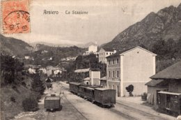 """S2741 Cpa Italie - Arsiero - La Stazione """" Train """" - Vicenza"""
