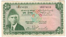 Pakistan 10 Rupees 1972 *V* - Kazakhstán