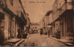 VILLEREAL  RUE DU DROPT CARTE ANIMEE - France