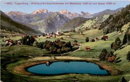 Toggenburg - Wildhaus-Schönenbodensee Mit Mattstock Und Speer (4883) * 2. 7. 1916 - SG St. Gallen