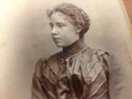 HERMANNSTADT - ROMANIA - WILHELM AUERLICH - FINE YOUNG LADY - DEDICATION - 1897 - Lieux