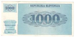 Slovenia 1000 Tolarjev 1991 *V* - Eslovenia