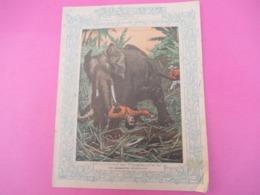 Couverture De Cahier écolier/Les Chasseurs D'Elephants/ Vers 1900       CAH265 - Löschblätter, Heftumschläge