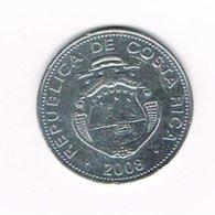 //  COSTA RICA  5 COLONES  2008 - Costa Rica