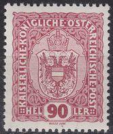 ÖSTERREICH AUSTRIA [1916] MiNr 0198 ( **/mnh ) - Unused Stamps