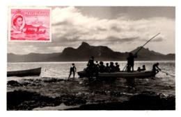 Ile Maurice - Départ De Scouts Pour Le Bain - Mauritius