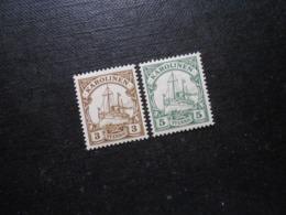 D.R.7/8 - 3/5Pf**MNH - Deutsche Kolonien (Karolinen) 1900  Mi 5,00 € - Kolonie: Karolinen