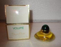 Miniature De Parfum Volupte De Oscar De Rente    4 Ml Eau De Toilette - Miniatures Femmes (avec Boite)