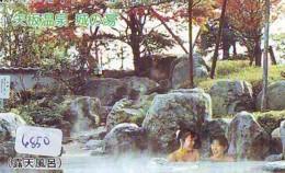 Télécarte Japon * EROTIQUE (6850) DANS LA BAIN *  EROTIC PHONECARD JAPAN * TK * BATHCLOTHES * FEMME SEXY LADY LINGERIE - Moda