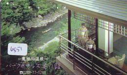 Télécarte Japon * EROTIQUE (6851) DANS LA BAIN *  EROTIC PHONECARD JAPAN * TK * BATHCLOTHES * FEMME SEXY LADY LINGERIE - Moda