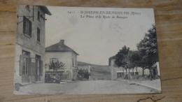 ST JOSEPH EN BEAUJOLAIS    : La Place   ……….AS1-1822a - Frankreich